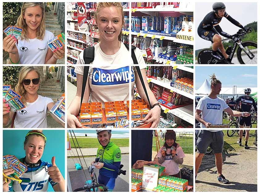 Clearwipe Australia Ambassadors